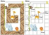 Jungle Animals Sticker/Behavior Chart