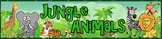 Jungle Animals Theme Banner