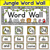 Jungle Theme Word Wall