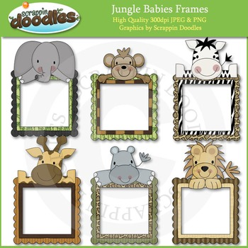 Jungle Babies Frames