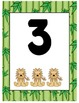 Jungle Babies Numbers 1-10 Posters