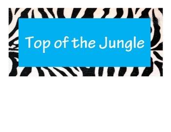 Jungle Behavior Clip Art