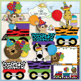 Jungle Birthday - CU Colored Clip Art