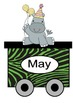 Jungle Birthday Train
