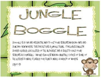 Jungle Boggle