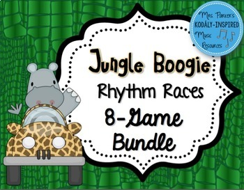 Jungle Boogie Rhythm Races: Bundle