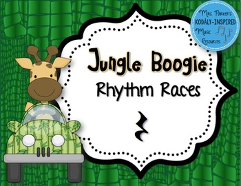 Jungle Boogie Rhythm Races: Quarter Rest