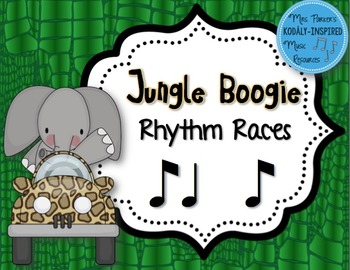 Jungle Boogie Rhythm Races: Syncopation