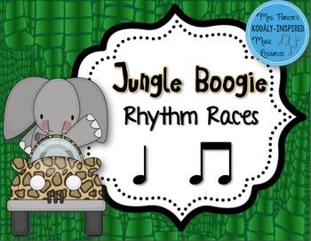Jungle Boogie Rhythm Races: Ta Ti-Ti