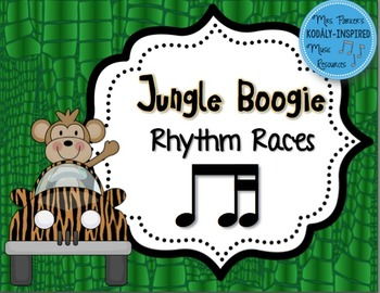 Jungle Boogie Rhythm Races: Ti-Tika