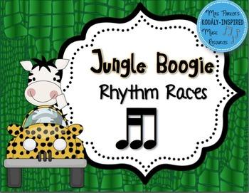 Jungle Boogie Rhythm Races: Tika-Ti