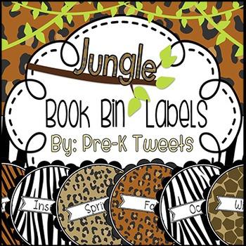 Jungle Book Bin Labels