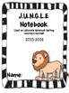 Back to School Jungle Binder Cover