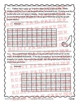 Jungle Book - Math Problem Solving – 1st Grade