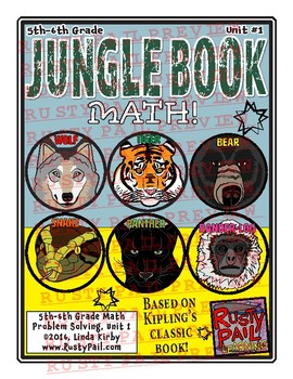 Jungle Book - Math Problem Solving – 5th & 6th Grades