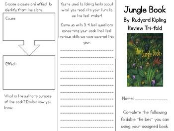 Jungle Book Review Tri-fold