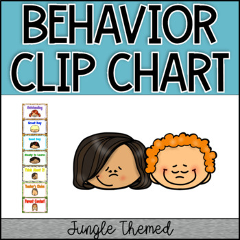 Jungle Border Behavior Clip Chart