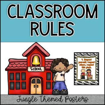 Jungle Border Classroom Rules