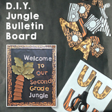 Jungle Bulletin Board Kit