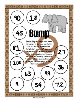 Jungle Bump Multiplication