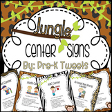 Center Signs - Jungle Theme