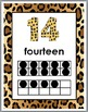 Jungle Theme Numbers 11-20 Number Posters with Ten Frames