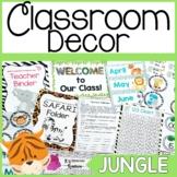 Jungle Classroom Decor