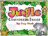 Jungle Classroom Decor pack
