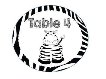Jungle Themed Classroom Kit