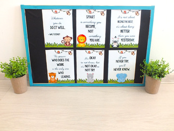 Jungle Themed Classroom MEGA BUNDLE - Safari Themed Classroom EDITABLE