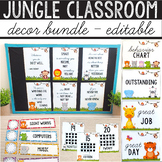 Jungle Themed Classroom MEGA BUNDLE - Safari Themed Classr