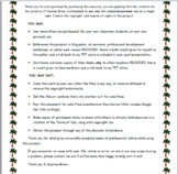 Jungle Classroom Theme Pack