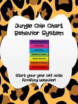 Jungle Clip Chart Behavior System