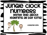 Jungle Clock Numbers