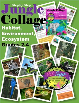 Jungle Collage-Habitat, Environment and Ecosystem