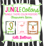Jungle Theme Classroom Colors {Classroom Decor Posters}