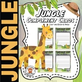 Jungle Compliment Cards