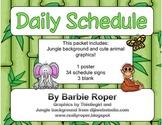 Jungle Daily Schedule