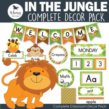 Jungle Decor Pack