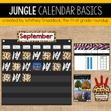 Safari Calendar Bulletin Board Set