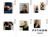 Jungle Desert Forest Sign Language (ASL) Flash Cards with descriptions