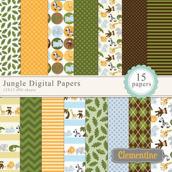 Jungle Digital Papers