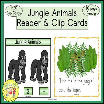 Jungle Emergent Reader