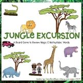 Jungle Excursion Board Game (Multisyllabic Words with Magi