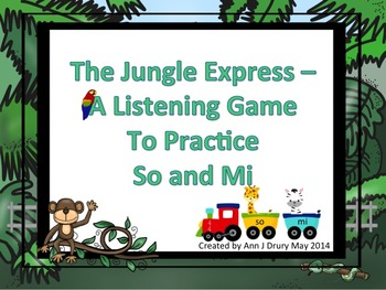 Jungle Express - Take the So-Mi Listening Train