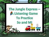 Jungle Express - Take the So-Mi Listening Train