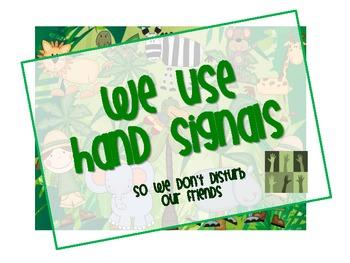 Jungle Fever Hand Signals