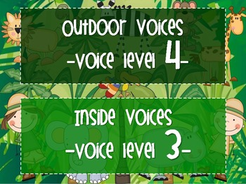 Jungle Fever Voice Level Chart