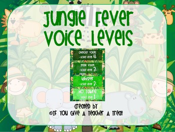 Jungle Fever Voice Level Chart