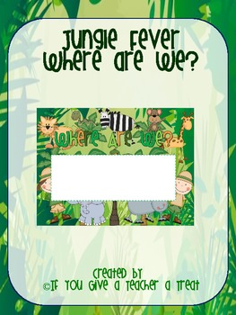 Jungle Fever- Where Are We Sign